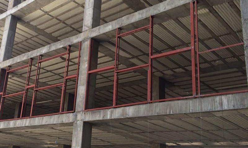 نبشی کشی ساختمان